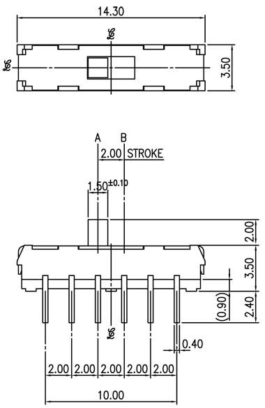 jw2-11az/3行程开关电路图