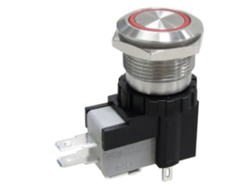 MW19 HIGH CURRENT METAL PUSHBUTTON SWITCHES