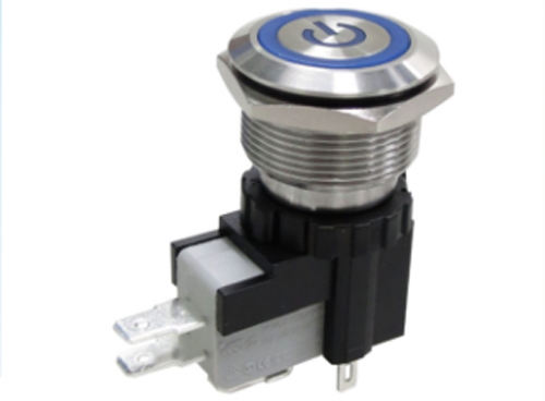 MW22 HIGH CURRENT METAL PUSHBUTTON SWITCHES